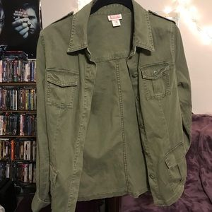 Mission Green Army Jacket
